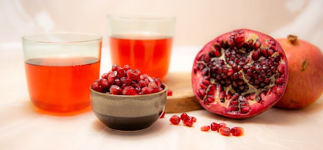 best time to drink pomegranate juice